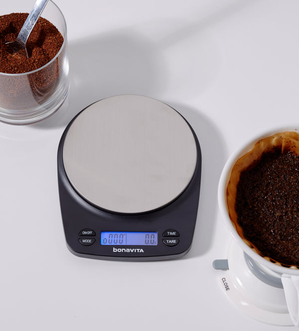 Bonavita Recharagable Coffee Brew Scale with Timer - Barista Shop