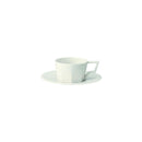 Kinto Oct Cup and Saucer - White 80ml - Barista Shop