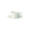 Kinto Oct Cup and Saucer - White 220ml - Barista Shop