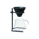 Kinto 4 Cup Brewer Stand Set (Black) - Barista Shop