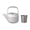 Kinto Leaves to Tea Teapot 600 ml (White) - Barista Shop