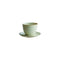 Kinto Pebble Cup and Saucer White 180ml - Barista Shop