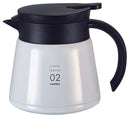 Hario Thermal V60 Server 02 - White - Barista Shop
