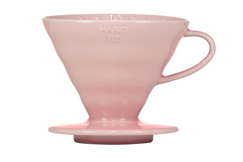 Hario Special Edition V60 Ceramic Dripper - Pink Size 02 - Barista Shop