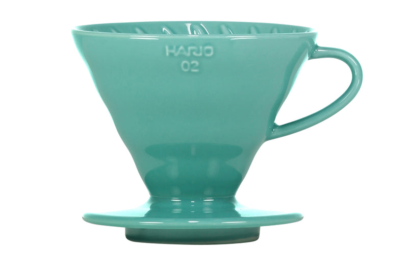 Hario Special Edition V60 Ceramic Dripper - Turquoise Size 02 - Barista Shop