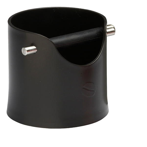Crema Pro Knock Box (Black) - Barista Shop