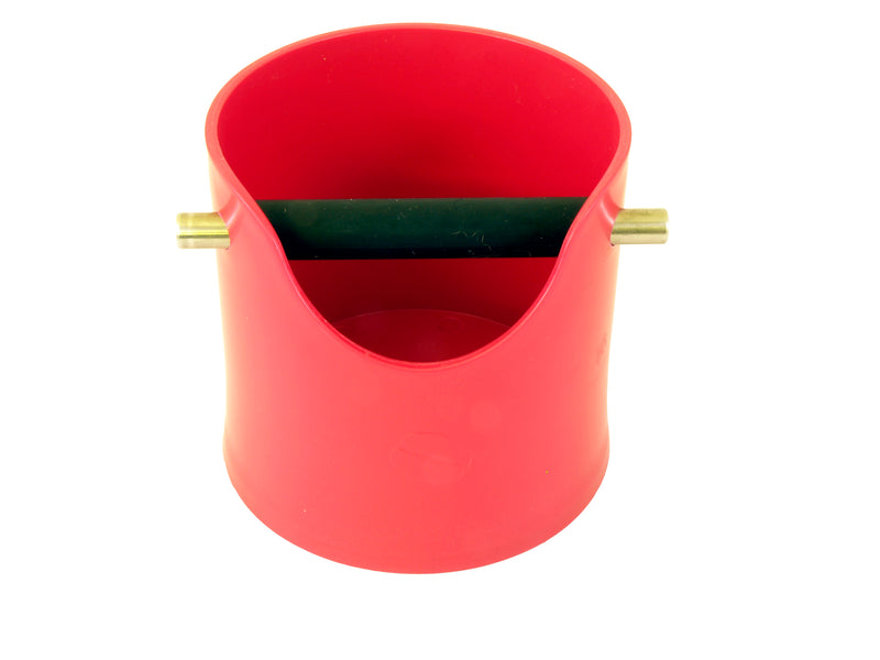 Crema Pro Knock Box (Red) - Barista Shop