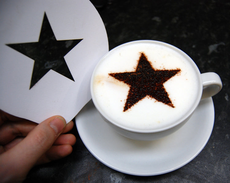 Stencils - 5 Point Star - Barista Shop