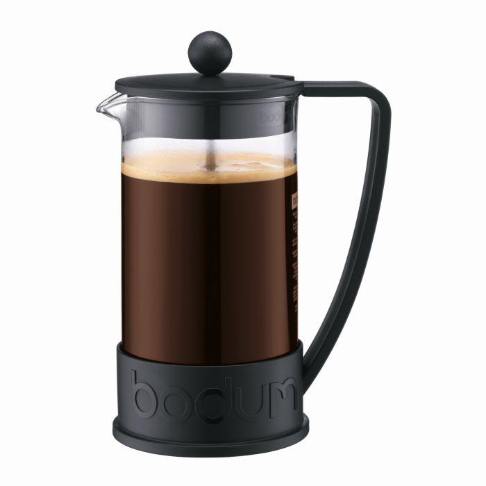 Bodum Brazil French Press Coffee Maker 1 ltr 34 oz. | Black - Barista Shop