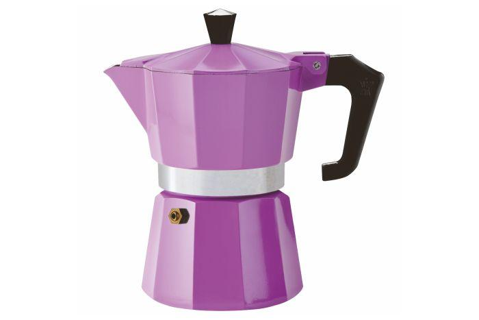 Pezzetti ItalExpress Aluminium Moka Pot - 3 Cup Purple - Barista Shop