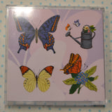 BROTHER EMBROIDERY DESIGN CARD = No. 47 Butterfly Designs