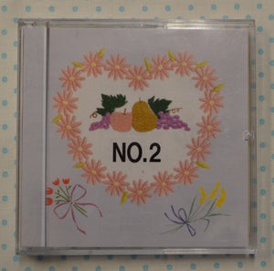 BROTHER Embroidery Design Card - No. 2 Fruits & Flowers (pre-owned)