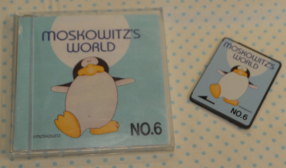 BROTHER Embroidery Design Card - No. 6 Moskowitz's World (pre-owned)