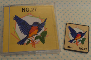 MACHINE EMBROIDERY DESIGNS ON CD OR USB BIRDS OF PREY COLLECTION