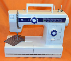 JANOME 110 Free Arm Sewing Machine.(Pre-owned)