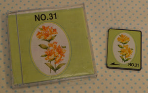 BROTHER Embroidery Design Card - No.31 Large Floral 2  (pre-owned)