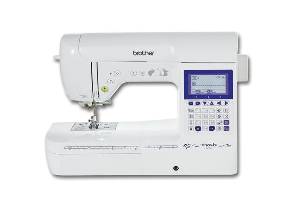 BROTHER Sewing Machine Innv-is F420  Special Offer-Free Creative Quilt Kit