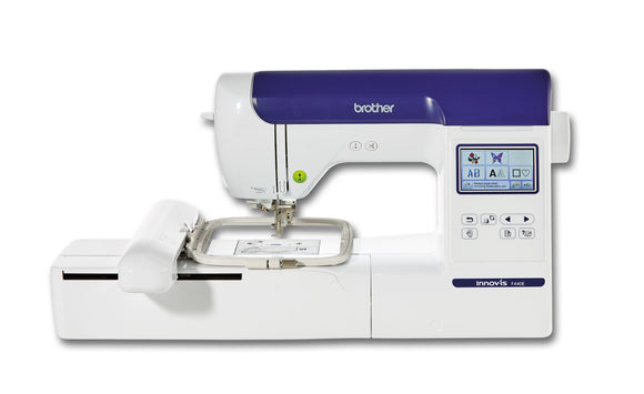 Brother Embroidery Machine NV F440E with PE Design Plus 2 Bundle Offer