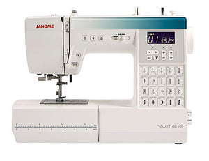 JANOME Sewist 780DC Computerised Free-arm Sewing Machine