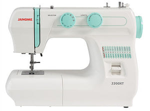 JANOME 2200XT Mechanical Free-arm Sewing Machine