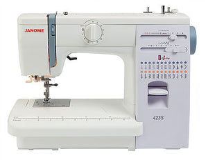 JANOME 423S Mechanical Free-arm Sewing Machine