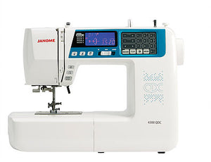 JANOME 4300QDC Computerised Free-arm Sewing Machine