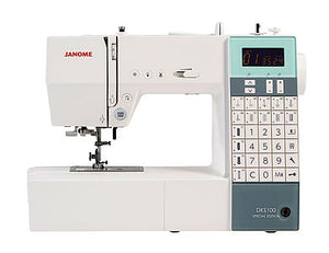 JANOME DKS100 Special Edition Computerised Free-arm Sewing Machine