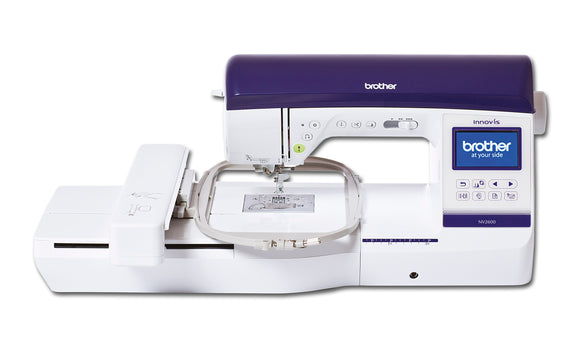 Brother Sewing and Embroidery Machine Innovis 2600 SPECIAL KNITTING SHOW OFFER ENDS 13 OCTOBER 201 (FREE FOOT WITH LED POINTER & SET OF 40 EMBROIDERY THREADS)