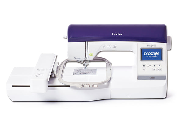 Brother Embroidery Machine NV800E with PE Design 10 Bundle Offer