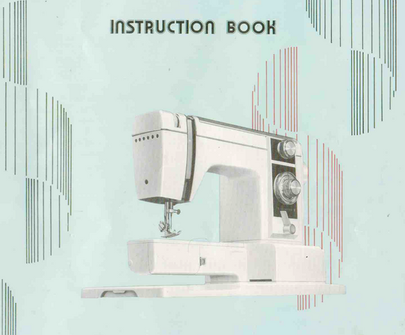 NEW HOME XL-II Instruction Manual (Printed copy)