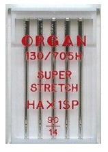 ORGAN Sewing Machine Needles Super Stretch 90(14) (Ideal for Overlockers)