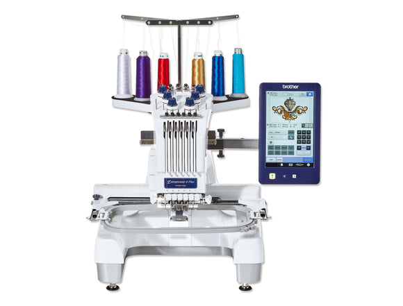 Brother Embroidery Machine PR670E, SPECIAL OFFER 1-FREE MACHINE STAND plus PE DESIGN 10
