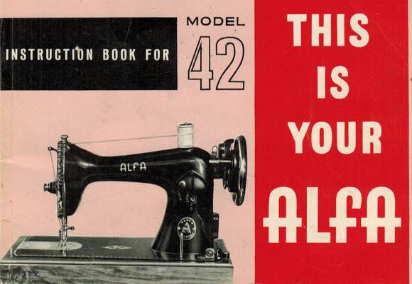 ALFA Model 42 Instruction Manual (Download)