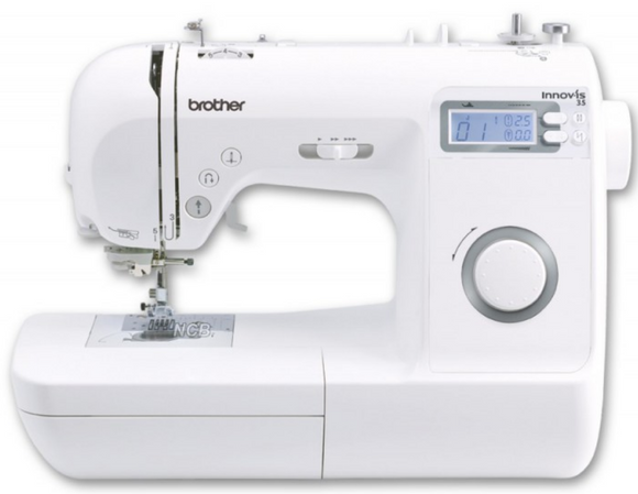BROTHER Innov-is 35 Sewing Machine.-SPECIAL OFFER - FREE CREATIVE QUILTING KT (worth £149)