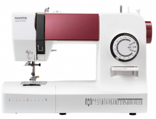 TOYOTA Ergo 334D Lightweight Free-arm Sewing Machine - SALE PRICE