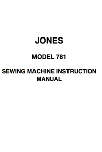 Jones 781 Instruction Manual (Printed)