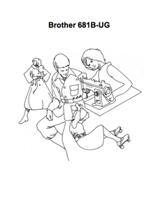 BROTHER 681B-UG Instruction Manual (Download)
