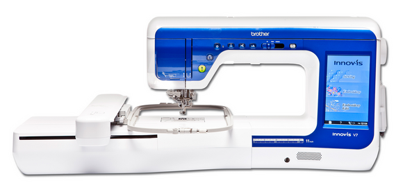 BROTHER INNOV-IS V7 Sewing & Embroidery Machine - EX DISPLAY MACHINE - SALE PRICE