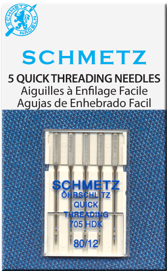 Schmetz Sewing Machine Needles Quick Threading size 90(14)