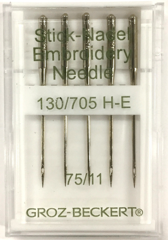 GROZ-BECKERT Sewing Machine Needles Emroidery 75(11)