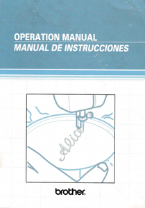 BROTHER XL4011 Instruction Manual (Printed)