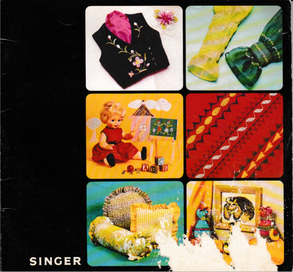 SINGER Sewing Applications (Tecniques) book (Printed)