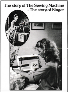 The Story of the Sewing Machine Booklet