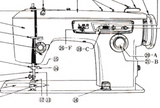 JONES BROTHER Model 888 Sewing Machine  Instruction Manual (Download)