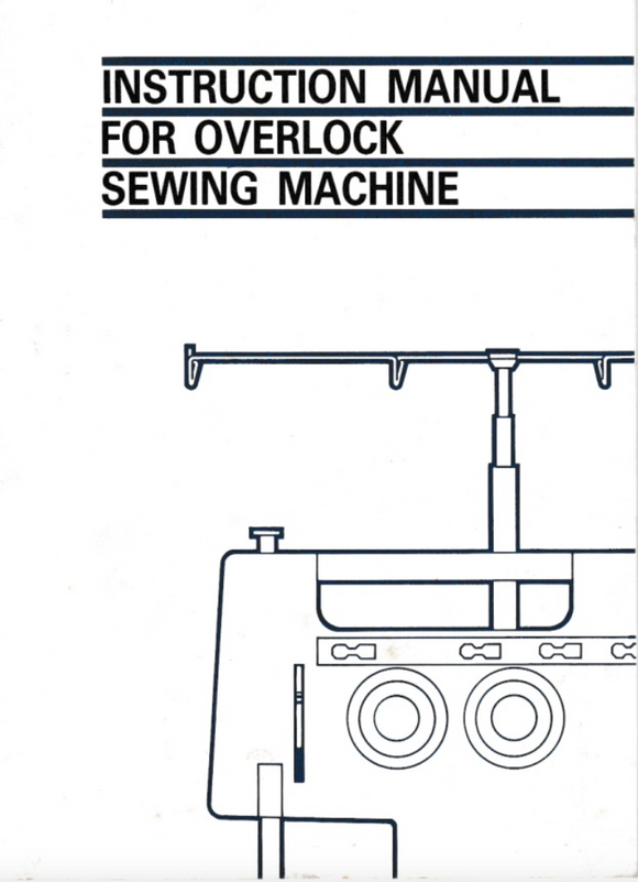 JONES & BROTHER Instruction Manuals – Beccles Sewing