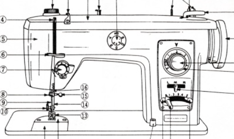 BROTHER Model 882 Sewing Machine Instruction Manual