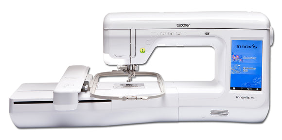 BROTHER Embroidery Machine Innov-is V3 with PE Design 10 BUNDLE OFFER
