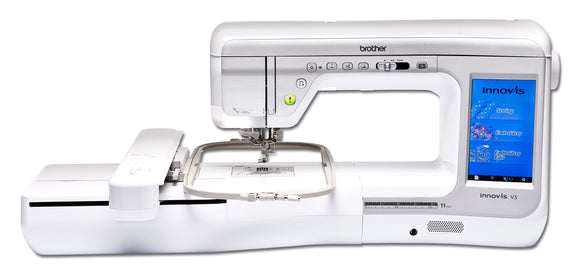 BROTHER INNOV-IS V5 Sewing & Embroidery Machine-SPECIAL OFFER -£200 OFF PLUS FREE PREMIUM UPGRADE PACKS 1 & 2