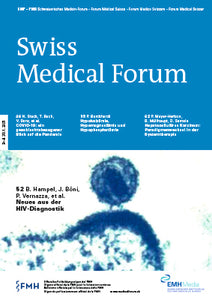 Swiss Medical Forum 2021 - PDF