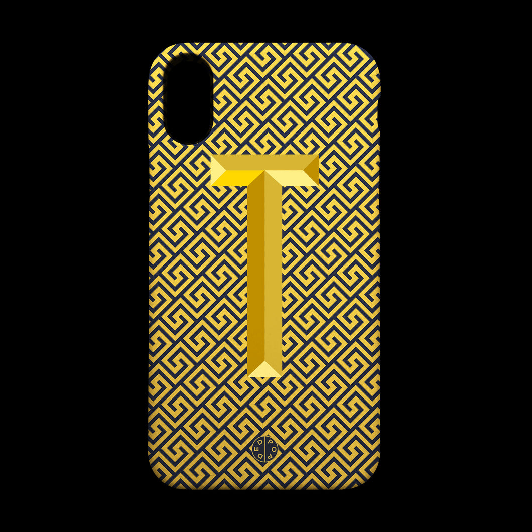 Greek Gold Case T